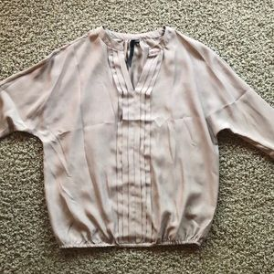 Taupe Nordstrom 3/4 sleeve blouse